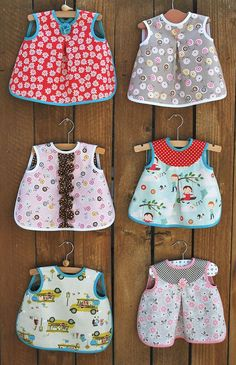 JUST IN! These darling Aiden & Ava bibs, shown above! They are in kits, with lots of darling fabrics to choose from and the bias is pre-cut for you! You can also get just the pattern that comes...
