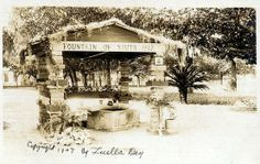 St. Augustine FL First Settlement   St Augustine's Fountain of Youth: Attracting visitors for 500 years