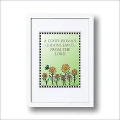 A Good woman obtains favor from the LORD, Print, Scripture, Digital File, Bible Verse Art, Christian.Typography, Calligraphy, Lime, Flowers by LoveLineSigns on Etsy