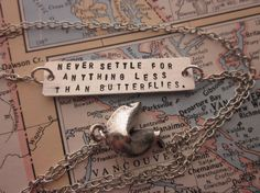 For a wedding gift to Jaden! One of them at least!  The Rosalie Necklace  Pewter Fortune Cookie by SeizeTheNight, $26.00