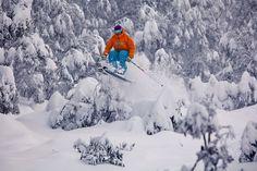 Snow Australia - powder madness! Skiing at Falls Creek, Victoria, Australia #snowaus