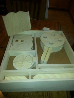 Complete Fettuccia kit: created by BC Woodshop   email us at: bbbwwwccc@cox.net