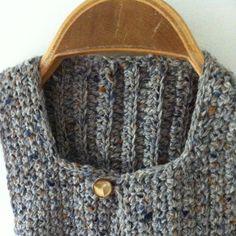 m.i.l.c.h.schaum: baby vest (crochet)