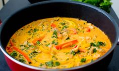 A delicious Indian chicken curry recipe made with fresh coconut milk.