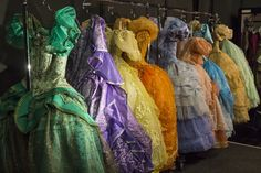In a flash, tattered rags transformed into a shimmering, elegant ballgown fit for a princess. Rodgers And Hammerstein's Cinderella, Cinderella Broadway, Cinderella Costume, Broadway Costumes, Cool Costumes, Makeup Charts, Best Costume Design, Theatre Makeup, Fantasy Costumes