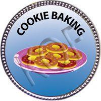 Cookie Baking, Silver Award Pin