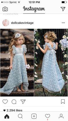 Girls Pageant Dresses, Little Girl Dresses, Flower Girl Dresses, Toddler Fashion, Kids Fashion, Beautiful Dresses, Nice Dresses, Dress Anak, Play Dress