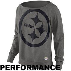 Women's Pittsburgh Steelers Nike Dri-FIT Epic Wildcard Long Sleeve T-Shirt