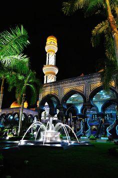 Brunei Darussalam Brunei, Travel Around The World, Around The Worlds, Bandar Seri Begawan, Small Water Features, Imperial Palace, Island Nations, Okinawa, Southeast Asia