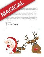 Free Letters from Santa! And upgraded Magical Packages too! Have your kids heard from Santa yet? We make it easy!! Letters from Santa || www.easyfreesantaletter.com