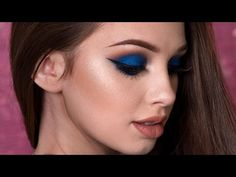 Navy Blue Smokey Eye Makeup Tutorial https://i.ytimg.com/vi/9ctBhziFJhc/hqdefault.jpg