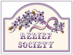 Lds handouts relief society rs pinterest relief for Idea door relief society