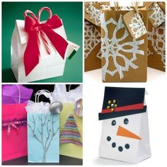 Christmas Gift Wrapping Ideas | Easy| Easy, inexpensive and festive! Description from pinterest.com. I searched for this on bing.com/images