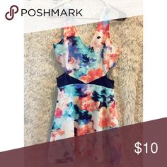 Dress✨ Super cute spring dress Charlotte Russe Dresses