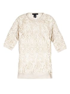 Isabel Marant - Calico lace top