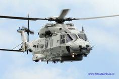 De nieuwe maritieme helikopter van Defensie, de NH90