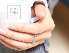 Harz Ring mit echter blauen Hortensie r079 von VIVIANNA auf DaWanda.com