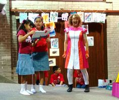 Poesía y mucha diversión con La Percha Teatro en la presentación del libro CARMEN ALARDÍN PARA NIÑOS. #EstoEsCONARTE