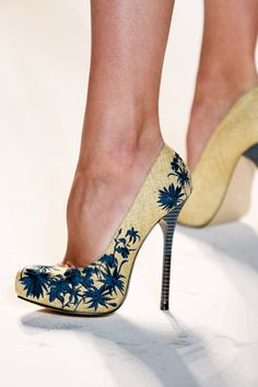 Gorgeous Spring shoes by Lela Rose
