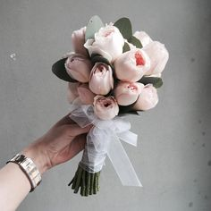 Small Flower Arrangements Wedding Bridal Bouquets – Famous Last Words Small Wedding Bouquets, Tulip Wedding, Diy Wedding Flowers, Flower Bouquet Wedding, Bridal Bouquets, Small Bouquet, Flower Bouquets, Small Flower Arrangements, Wedding Flower Arrangements