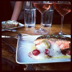 """The salmon has been #forkportland'd @junepdx"" via @Carriepdx"