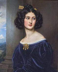 Joseph Karl Stieler, Nanette Kaula, 1829