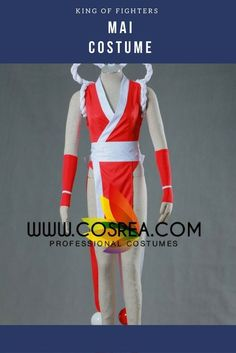 King Of Fighters Mai Cosplay Costume