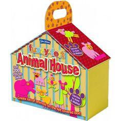 Creati o casa simpatica si colorata cu un set creativ de la John Adams!