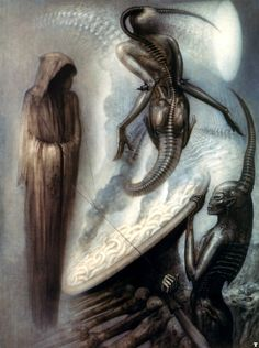 The magus- art by H.R.Giger