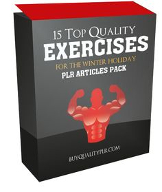 15 Top Quality Exercises For The Winter Holiday PLR Articles Pack - http://www.buyqualityplr.com/plr-store/15-top-quality-exercises-winter-holiday-plr-articles-pack/.  #exercisesforthewinterholiday #winterholidays #healthybreakfast #beatwinterblues #staymotivated #seasonalaffectivedisorder 15 Top Quality Exercises For The Winter Holiday PLR Articles Pack In this PLR Content Pack You'll get 15 Top Quality Exercises For The Winter Holiday PLR Article Pack with....