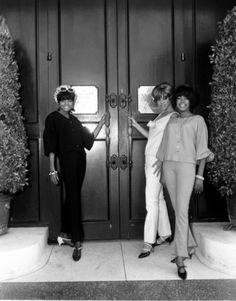 The Supremes - Diana Ross, Florence Ballard and Mary Wilson. DISCOVER for All Library Resources.