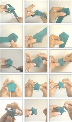 I've always wanted to learn how to make paper star garland...