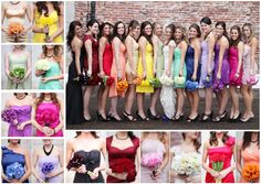 cant wait to be the last to get married so everyone can reuse their bridesmaids dresses :)