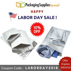 Our Labor Day sale🔖 is ending soon‼️ 10% off our ENTIRE site! 😱 Everything ‼️ 🛍️Use coupon: LABORDAY2018 🛍️ Offer Expires 9/9/2018 ⬅️⬅️⬅️ Shop Now: https://www.packagingsuppliesbymail.com/ #LaborDay #LaborDayWeekend #Sale #FreeShipping #Coupon #Discount #Onlineshopping #Onlinecoupons #Packaging #Shipping #Industrial #Medical #Coupon