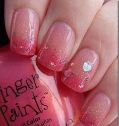 romantic nail design