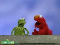 For KG, use as example of guiet voice in classroom...Sesame Street: Kermit and Elmo -- Loud and Quiet