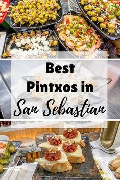 A guide to the best pintxos in San Sebastian, Spain. See what to eat in this culinary center in the Basque Country from creamy cheeses to salty anchovies.