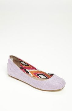 10985d2f2666 I really want these as my dancing shoes! TOMS  Natalia  Ballet Flat