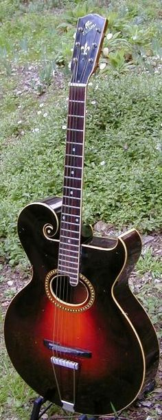 Vintage Guitars Info - Gibson archtop vintage guitar collecting