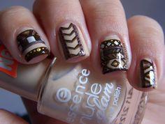 unique fall nail designs 2013