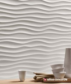 Alluring and natural traces. The light and shadow effect exalts the relief and three-dimensional pattern of the surface. | 3D WALL DESIGN / DUNE | atlasconcorde.com | Made in Italy |