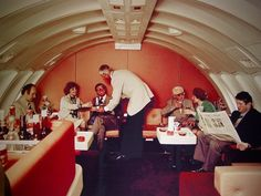 The 70s marked the end of the Golden Age of air travel