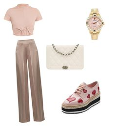 """Untitled #6"" by imani-ciera on Polyvore featuring Cushnie Et Ochs, Prada, Rolex and Chanel"