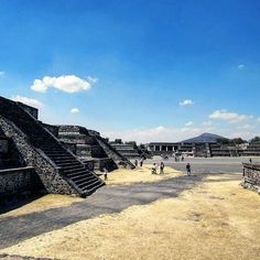 Before my trip to Mexico I had never heard of Teotihuacan. This ancient city existed almost 2000 years ago and is equivalent to that of a Mesoamerican Rome. This was the birthplace of Mesoamerican culture language arts and religion.  I don't know why this part of North American history wasn't taught in school. Have you ever heard about these people?  For more details about this fascinating location head over to my blog!