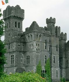 Ashford Castle    Once owned by the Guinness family, Ashford Castle of County Mayo, Ireland, whose oldest parts date to 1228, was home base for director John Ford while he was filming The Quiet Man; ashford.ie.