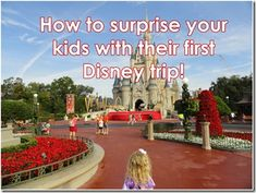 How to surprise your kids with their first Disney trip! | Magical Mouse Planner | Disney Tips | Disney VacationsMagical Mouse Planner | Disney Tips | Disney Vacations