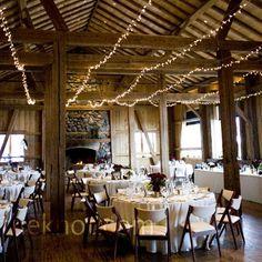 Real Weddings - A Winter Wedding in Tabernash, CO - Winter Cabin Reception