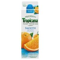 Tropicana Pure Premium Smooth No Bits 1 Litre - Click for larger image