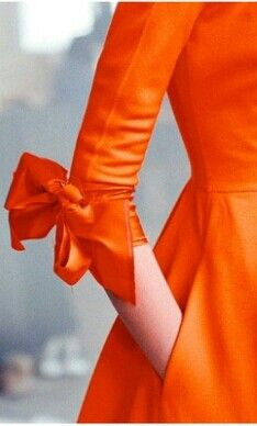 Orange - -  love the sleeve