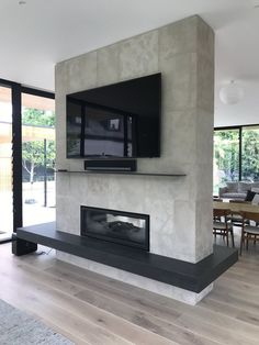 Fireplace Idea Photo Gallery - Fireplace & Fireplace Mantel Photos / Pictures Decorating Design & Decor Ideas for Fireplaces - Regency Fireplace Products Australia Home Fireplace, Home, Luxury Living Room Design, House Design, Fireplace Design, Modern Living Room Interior, New Homes, Fireplace Remodel, Fireplace Decor